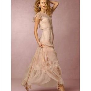0e87fd1c64 Needle & Thread Dresses - Anthropologie needle & thread chiffon lace gown